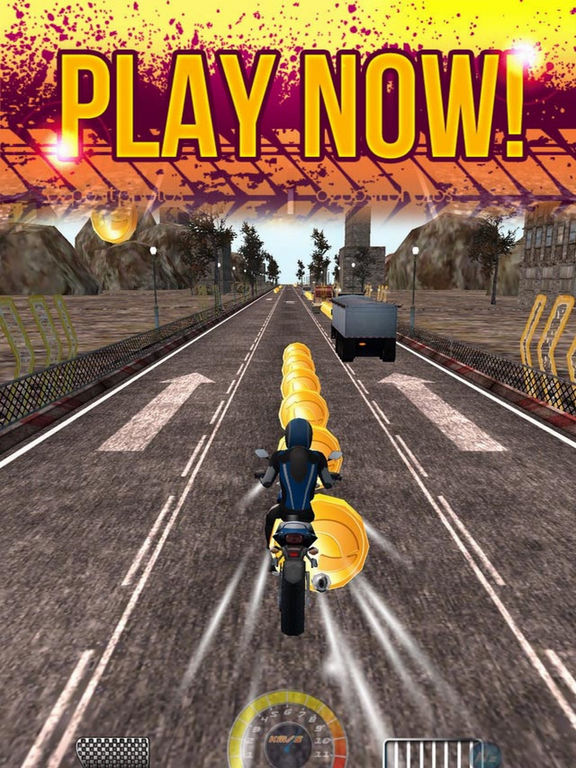 Crazy Racing Moto City screenshot 4