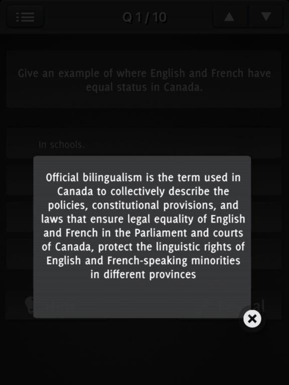 Canada Citizenship 2017 - All Questions screenshot 8