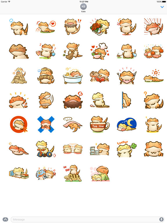 Dragon Baby Sticker screenshot 4