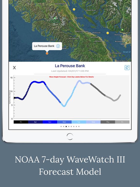 Canada Marine Weather Forecast screenshot 7