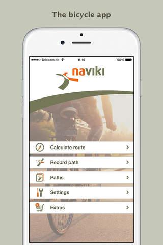 Naviki – the bicycle satnav - náhled