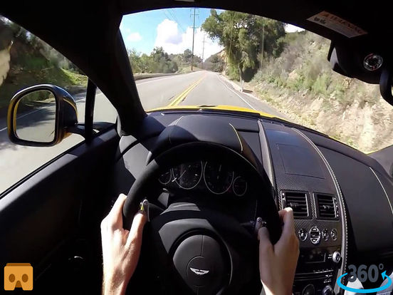 VR Car Driving Simulator with Google Cardboard screenshot 5
