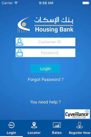Housing Bank Mobile Banking - náhled