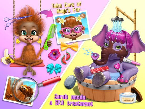 Jungle Animal Hair Salon 2 screenshot 9