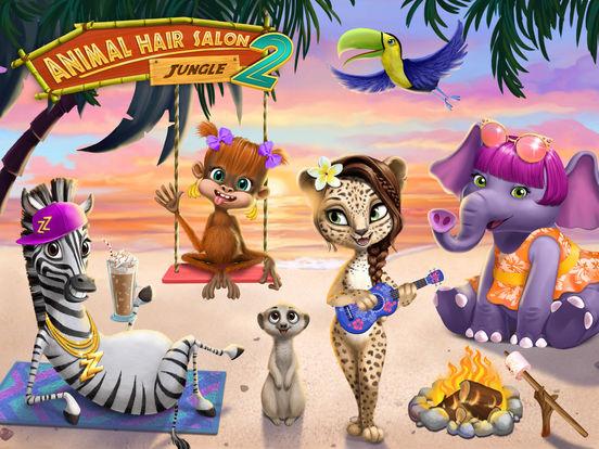 Jungle Animal Hair Salon 2 screenshot 6
