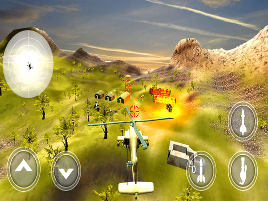 War-ship Sea Helicopter Strike : 3D Battle-Field screenshot 7