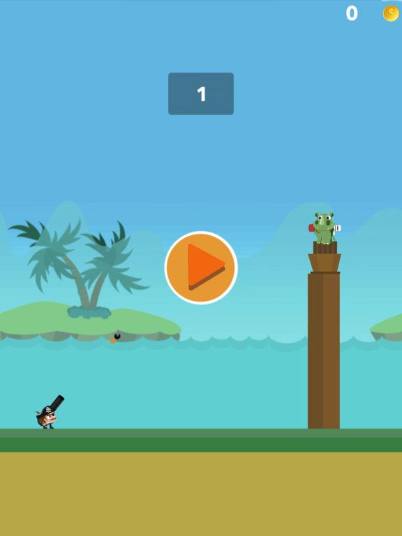 Crazy Pirate Cannon Combat - crazy gun battle screenshot 3