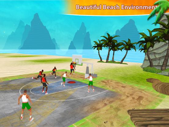 Beach Basketball Hoops - Slam Dunks for NBA Fans screenshot 6