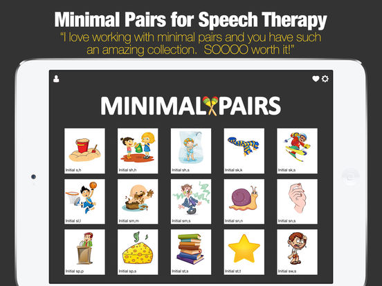 Minimal Pairs for Speech Therapy screenshot 6