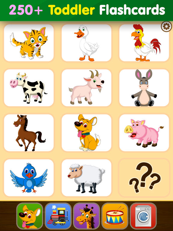 Toddler Flashcards HD: Baby Learning Games & Apps screenshot 6