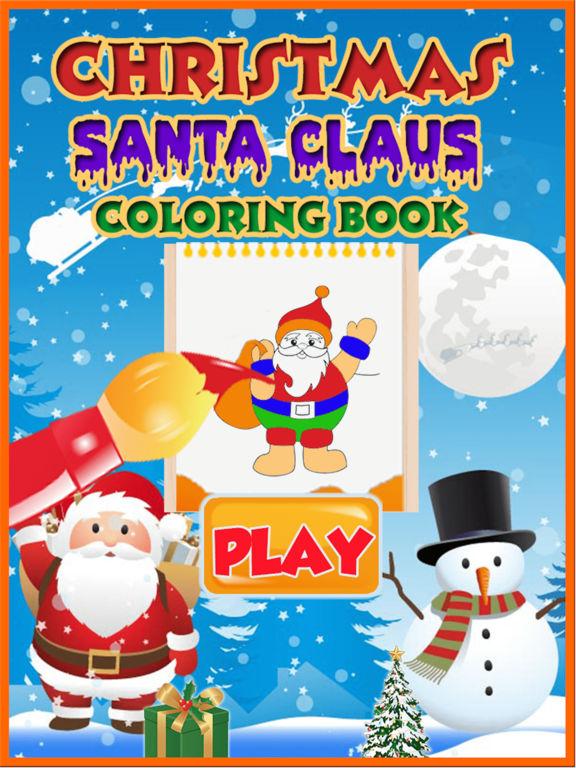 Santa Claus coloring pages screenshot 5