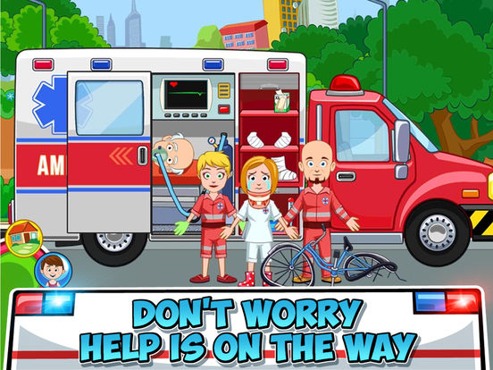 My Town : Fire station Rescue screenshot 7