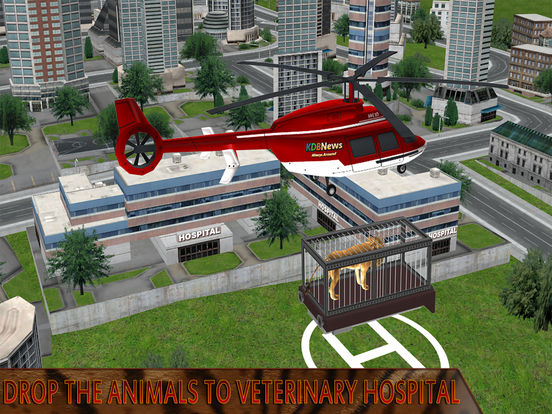 Animal Rescue Helicopter : Heli Flight Simulator screenshot 10