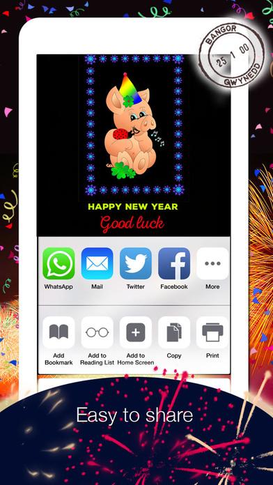2019 Happy New Year Greetings screenshot 2