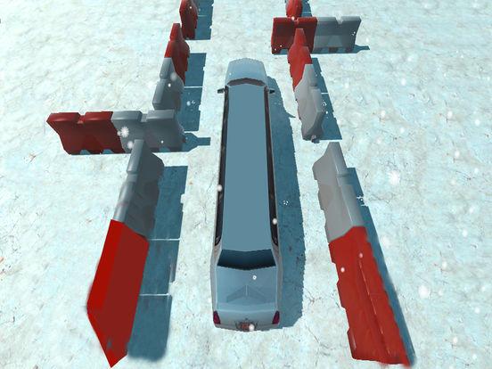 Snow Limo Parking : Crazy Driving Sim-ulator 2017 screenshot 8