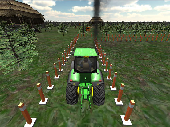 Farming Tractor Parking Driver screenshot 7