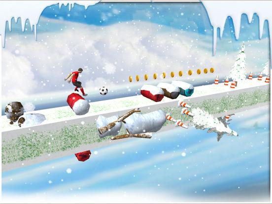 Soccer stunts and race - winters soccer trainer 3d screenshot 10