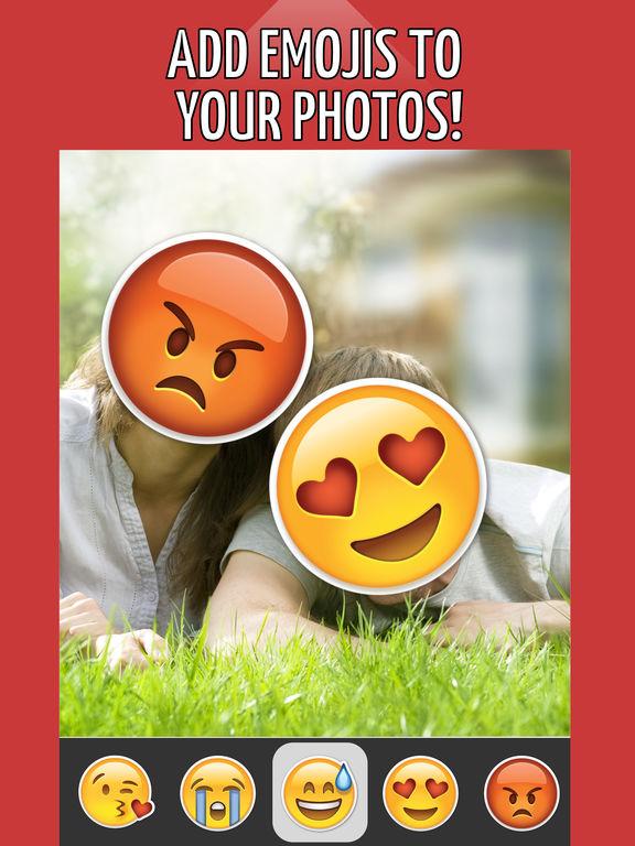 Emoji Face Maker - Cartoon Yourself Funny Face App (iPad