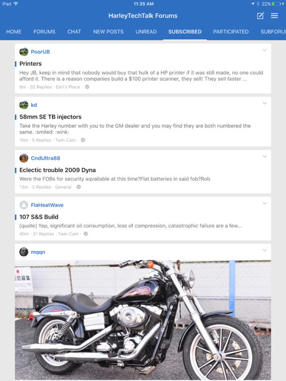 HarleyTechTalk Forums screenshot 8