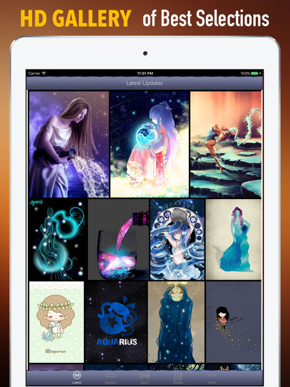 Aquarius Wallpapers HD- Quotes and Art Pictures screenshot 6