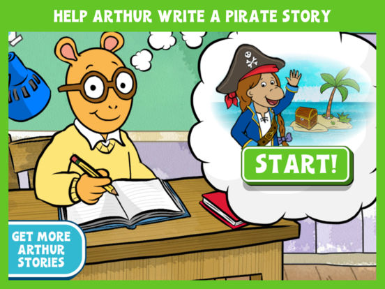 Arthur's Story Maker: Pirates – FREE Kids App screenshot 6