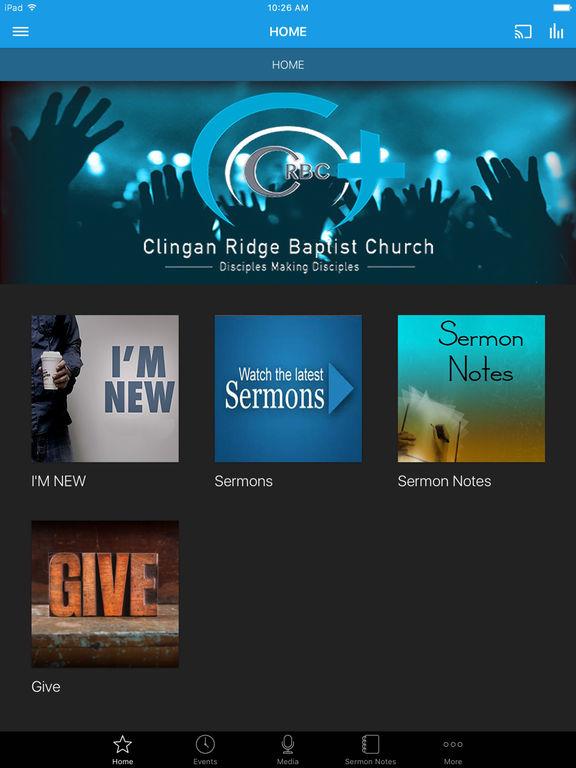 Clingan Ridge Baptist Church screenshot 4