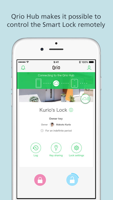 Qrio Smart Lock screenshot 5