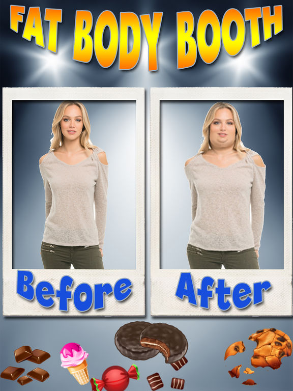 Fat Body Photo FX Booth screenshot 6