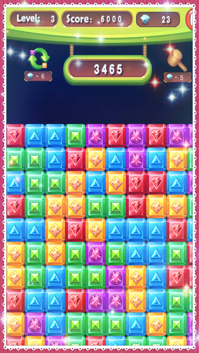 Diamond Crush Games World 2017 Puzzle screenshot 4