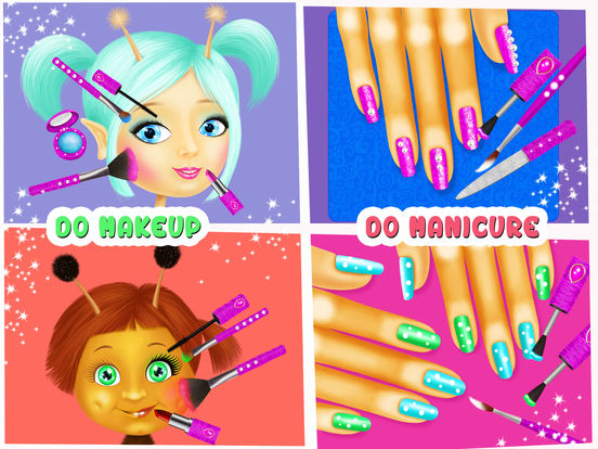 Fairyland 4 Meadow Princess - Makeup & Hair Salon screenshot 8