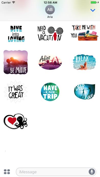 Summer Love Stickers Pack screenshot 2