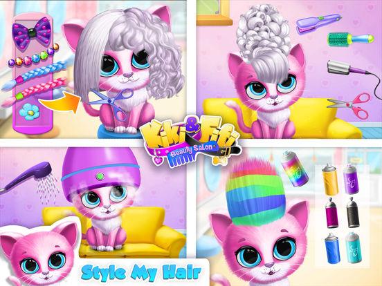 Kiki & Fifi Pet Beauty Salon - No Ads screenshot 7