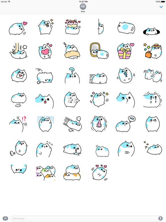 An Obese Cat Stickers screenshot 4
