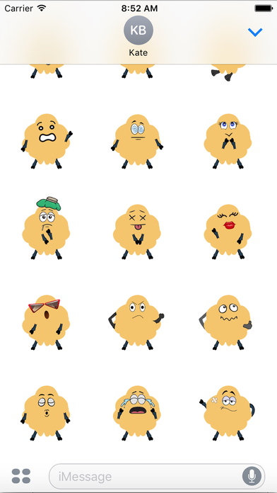 moving pictures iphone golden fleece moving emoji pack by huy pham 2001