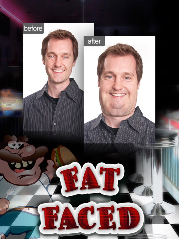 Fat Face Changing Photo Booth Pro screenshot 4
