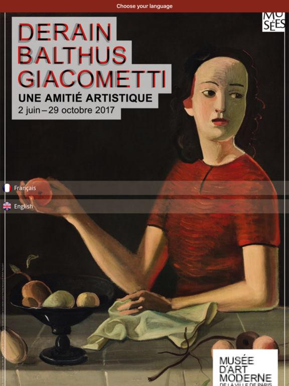 Derain, Balthus, Giacometti screenshot 6