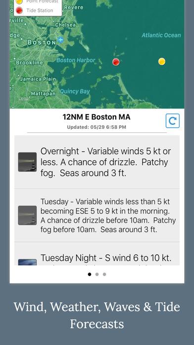 NOAA 5-day Marine Forecast screenshot 5