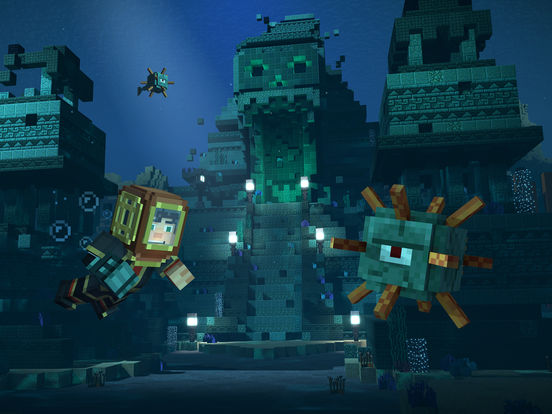 Minecraft: Story Mode - Season Two screenshot #2