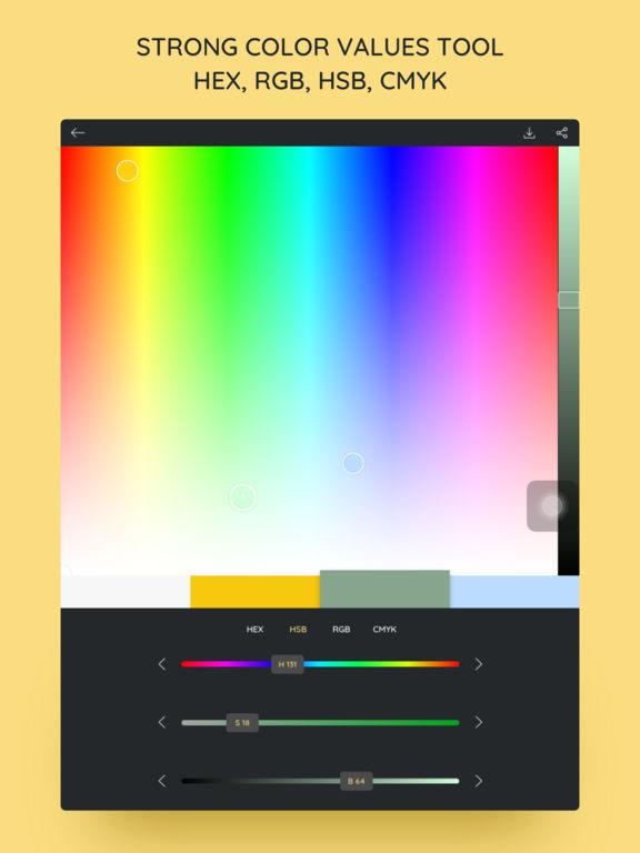 iPalettes - Color palettes screenshot 8