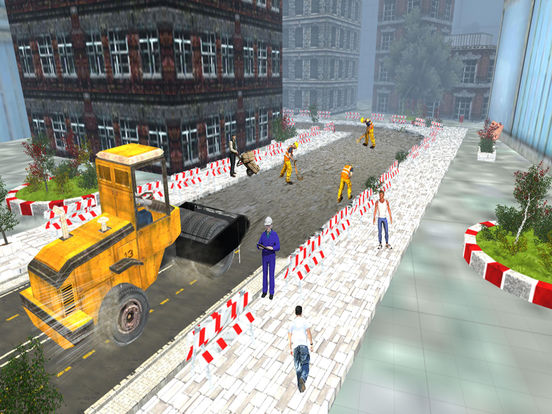 Road Roller and City Builder with Excavator screenshot 8
