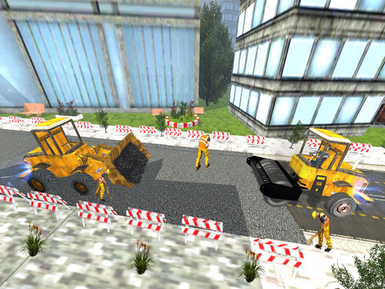 Road Roller and City Builder with Excavator screenshot 10