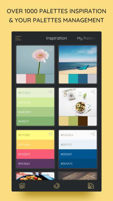 iPalettes - Color palettes screenshot 1