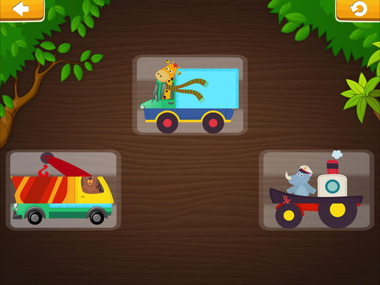 Smart Baby! Vehicles. Toddler Games for boys girls screenshot 6