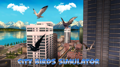 City Birds Simulator Full screenshot 1