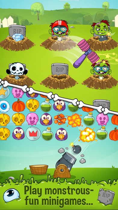 Zedd the Zombie - Grow Your Wacky Friend screenshot 3