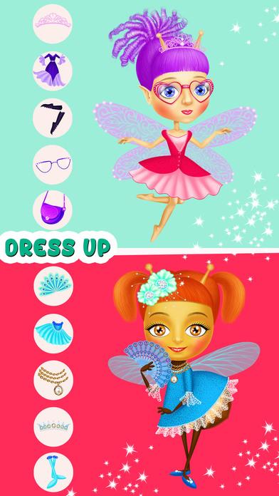 Fairyland 4 Meadow Princess - Makeup & Hair Salon screenshot 4