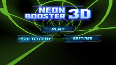 Neon Booster 3D screenshot 1