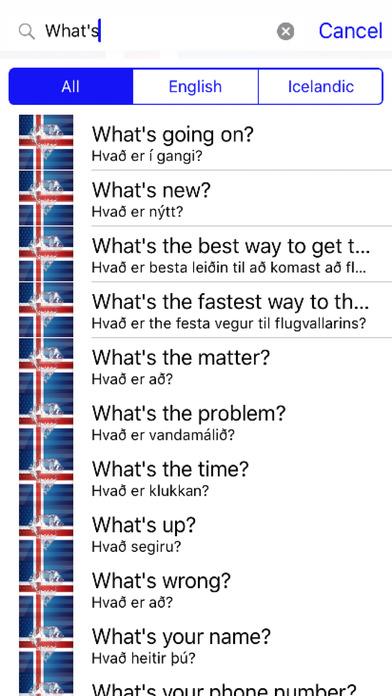 Icelandic Phrases Diamond 4K Edition screenshot 2