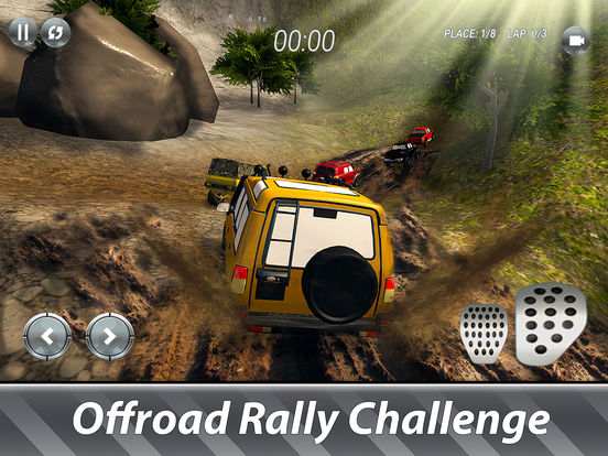 SUV Offroad Rally Full screenshot 7
