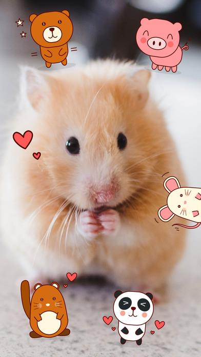 Cute Pets Sticker Pack - Say it the animal way screenshot 1